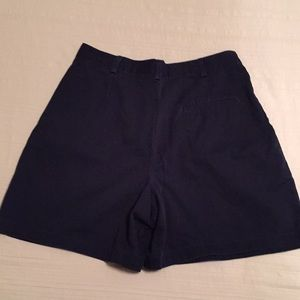 Dockers Pleated Shorts Navy Size 10